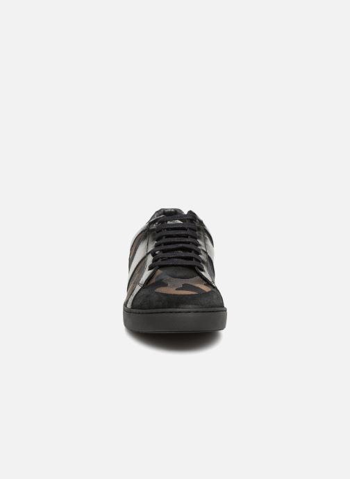 Baskets Azzaro AKTUEL Noir vue portées chaussures