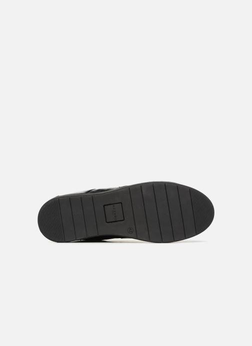 Baskets Azzaro AKTUEL Noir vue haut