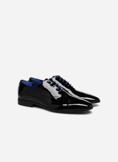 Lace-up shoes Azzaro ROSINO Black 3/4 view