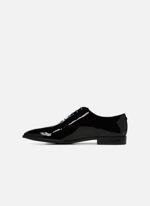 Lace-up shoes Azzaro ROSINO Black front view