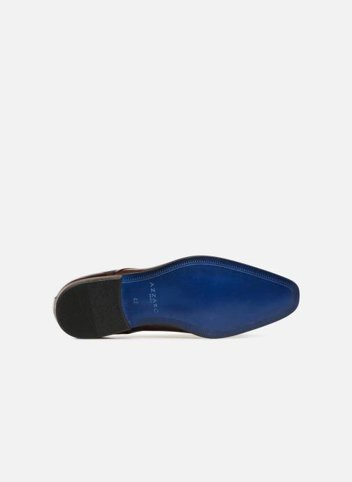 Zapatos con cordones Azzaro JUDIC Marrón vista de arriba