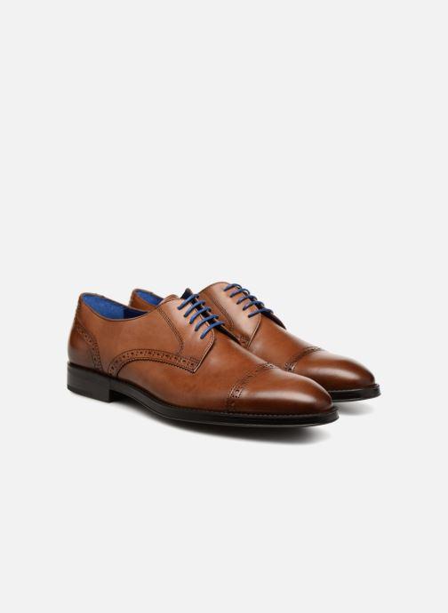 Zapatos con cordones Azzaro SAGNIER Marrón vista 3/4