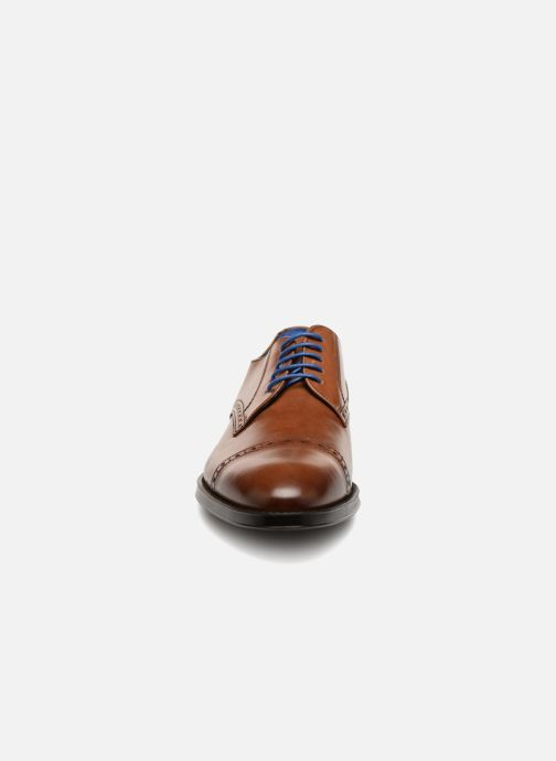 Lace-up shoes Azzaro SAGNIER Brown model view