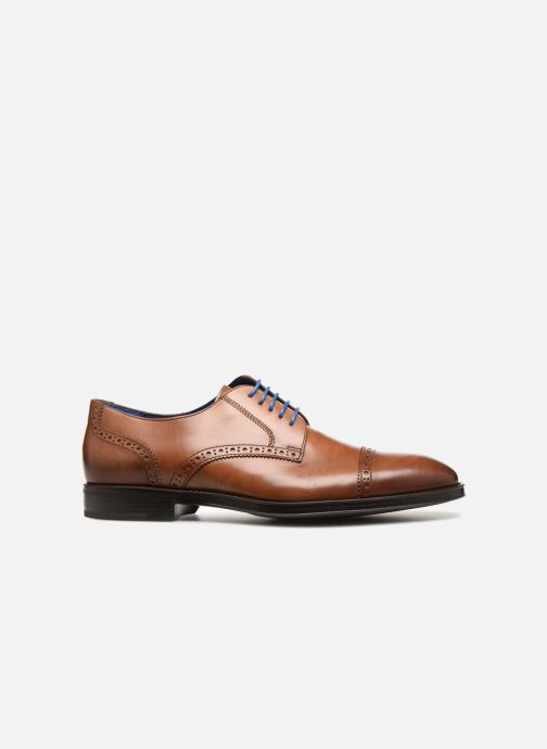 Lace-up shoes Azzaro SAGNIER Brown back view