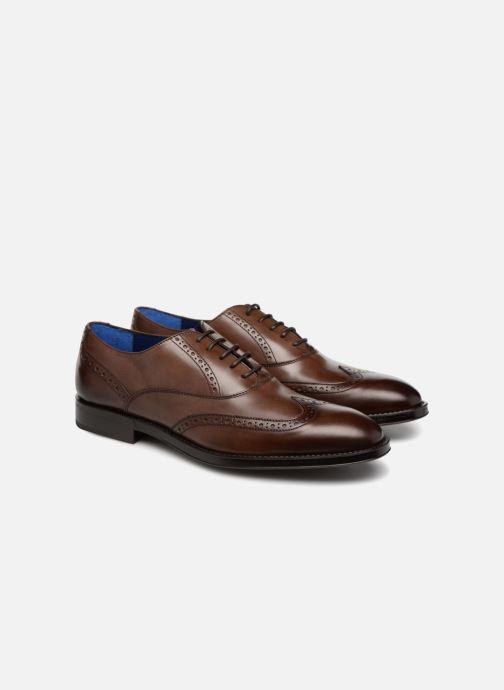 Zapatos con cordones Azzaro SALVADOR Marrón vista 3/4