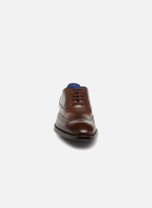 Chaussures à lacets Azzaro SALVADOR Marron vue portées chaussures