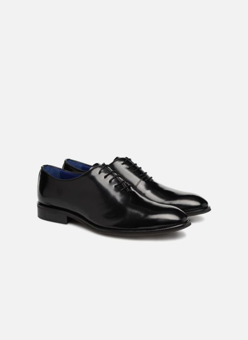 Zapatos con cordones Azzaro WAYER Negro vista 3/4