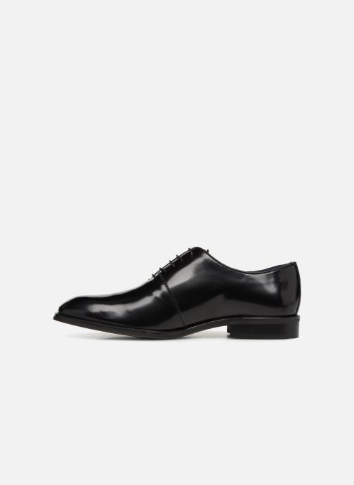 Chaussures à lacets Azzaro WAYER Noir vue face
