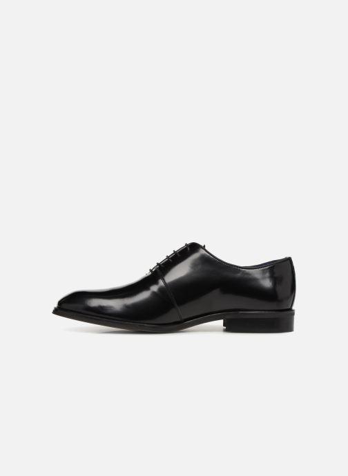 Zapatos con cordones Azzaro WAYER Negro vista de frente