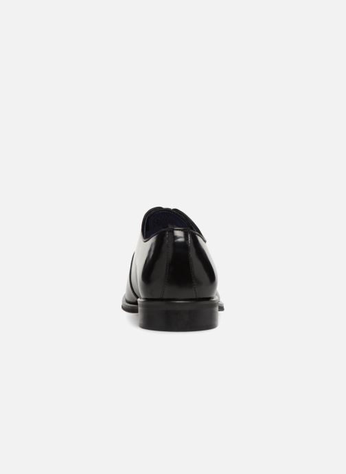 Zapatos con cordones Azzaro WAYER Negro vista lateral derecha