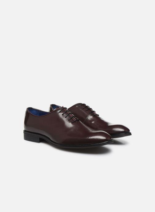 Chaussures à lacets Azzaro WAYER Bordeaux vue 3/4