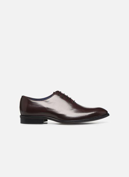 Chaussures à lacets Azzaro WAYER Bordeaux vue derrière