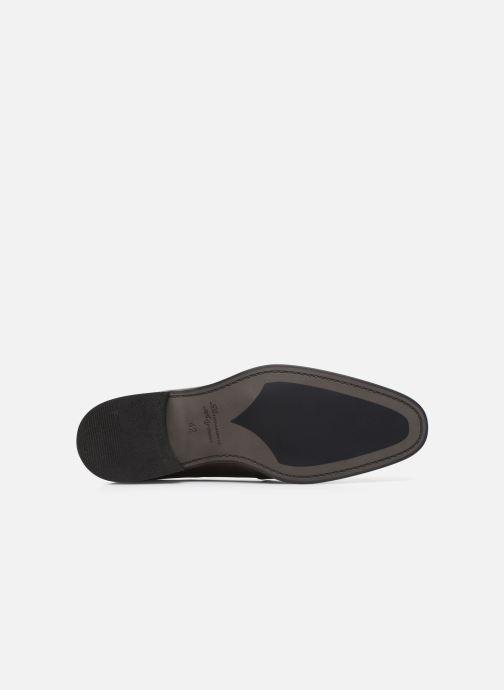 Chaussures à lacets Azzaro WAYER Bordeaux vue haut