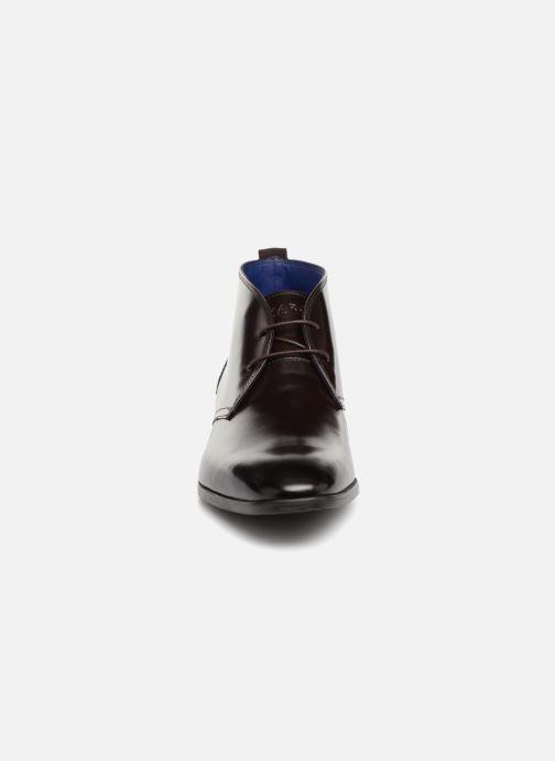 Bottines et boots Azzaro ISSARD Marron vue portées chaussures