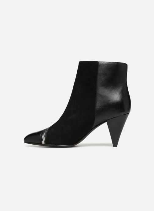 Ankle boots What For Athena Black front view