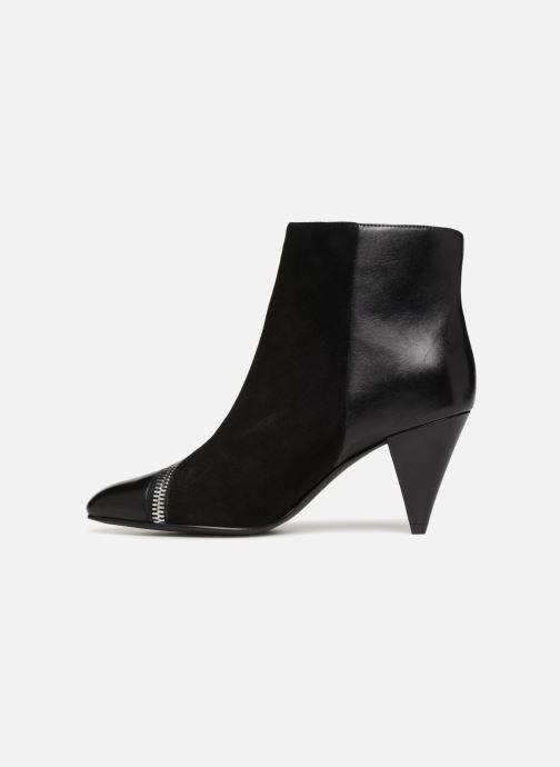Bottines et boots What For Athena Noir vue face