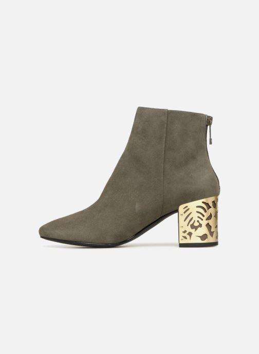 Boots en enkellaarsjes What For Alix Groen voorkant