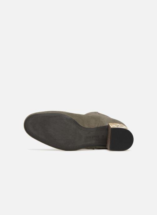 Bottines et boots What For Alix Vert vue haut