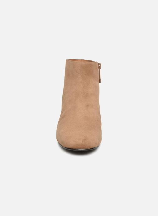 What Et For Bottines Chez Boots marron Sophie TxAawqrAP4