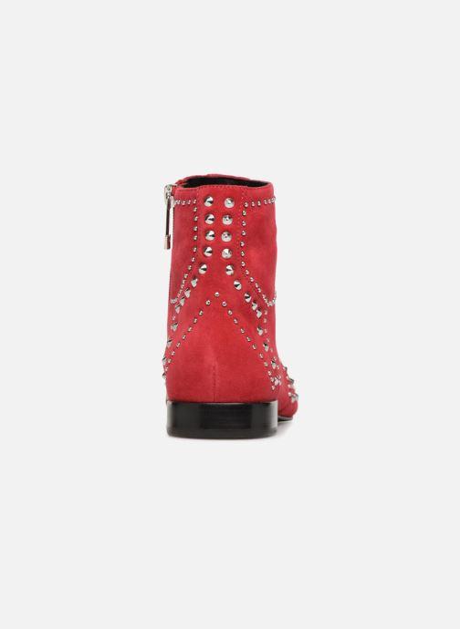Bottines et boots What For Alexiane Rouge vue droite