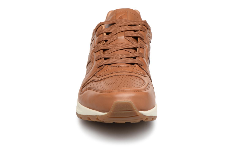 Baskets Polo Ralph Lauren Train 100 Marron vue portées chaussures