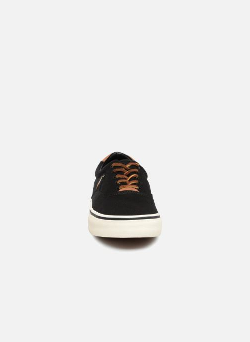 Trainers Polo Ralph Lauren Thorton Canvas Black model view