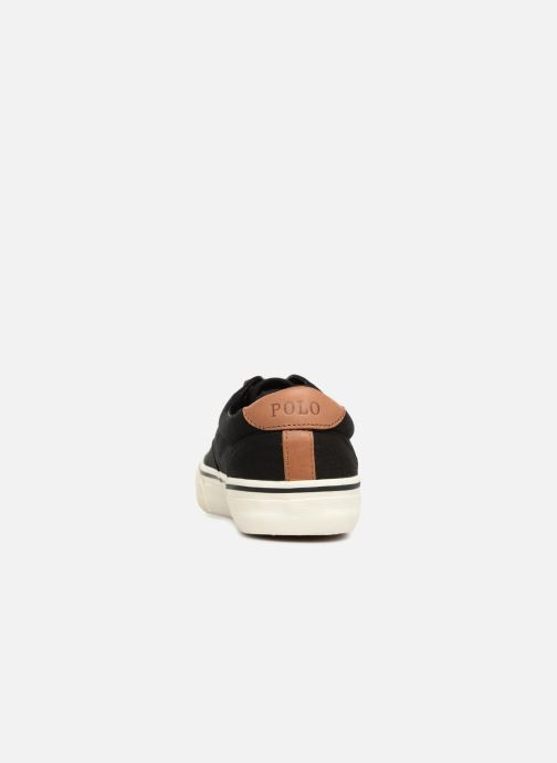 Trainers Polo Ralph Lauren Thorton Canvas Black view from the right