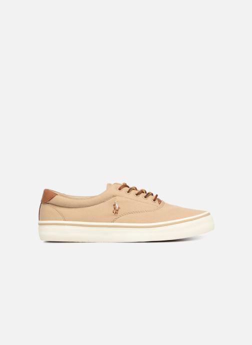 Baskets Polo Ralph Lauren Thorton Canvas Beige vue derrière