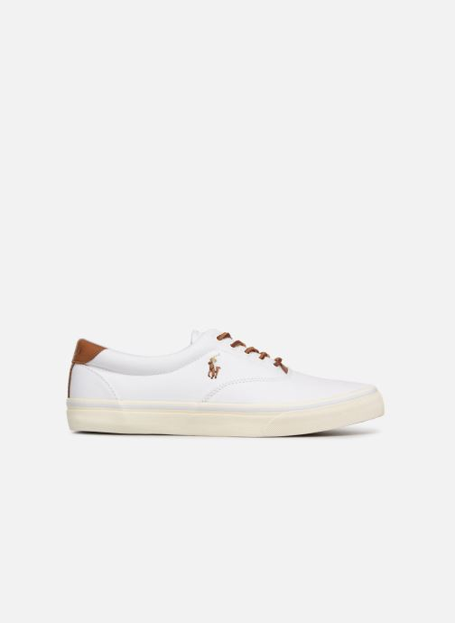 Baskets Polo Ralph Lauren Thorton Canvas Blanc vue derrière