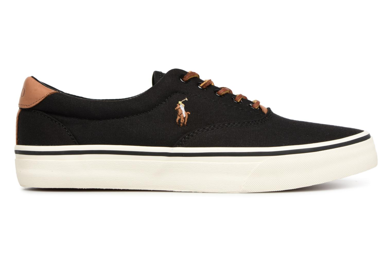 Baskets Polo Ralph Lauren Thorton Canvas Noir vue derrière