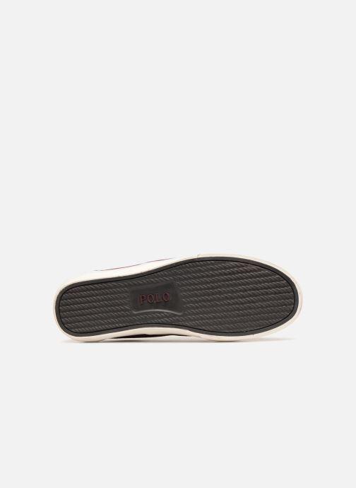 Sneakers Polo Ralph Lauren Thorton Suede Bordò immagine dall'alto