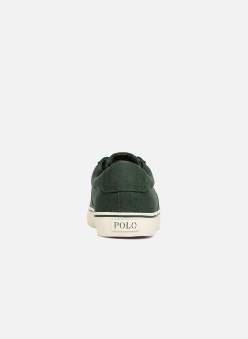 Sneakers Polo Ralph Lauren Sayer Canvas Groen rechts