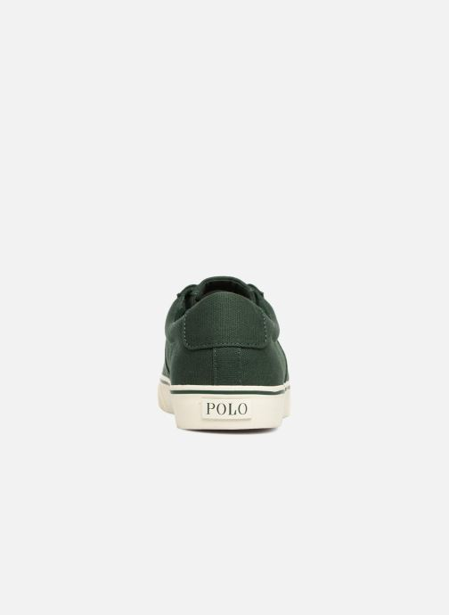 Baskets Polo Ralph Lauren Sayer Canvas Vert vue droite