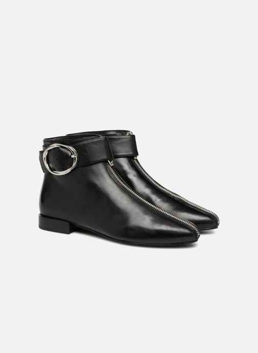 Ankle boots What For MOON 2 Black 3/4 view