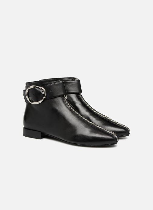 Bottines et boots What For MOON 2 Noir vue 3/4