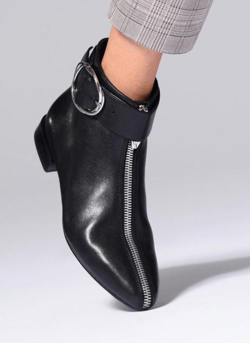 Bottines et boots What For MOON 2 Noir vue bas / vue portée sac