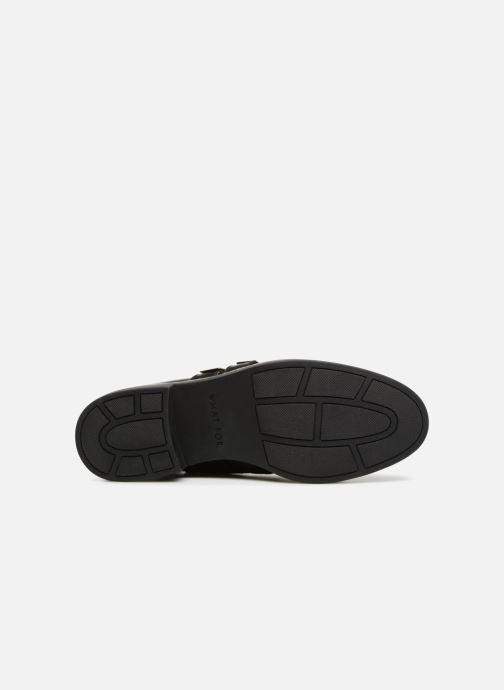 Bottines et boots What For RHE Noir vue haut