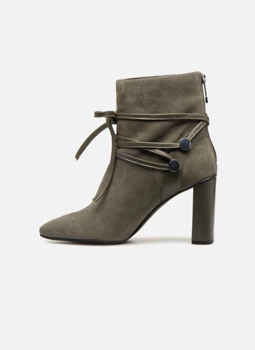 Bottines et boots What For GRANT Vert vue face