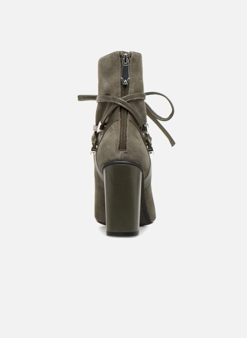 Bottines et boots What For GRANT Vert vue droite