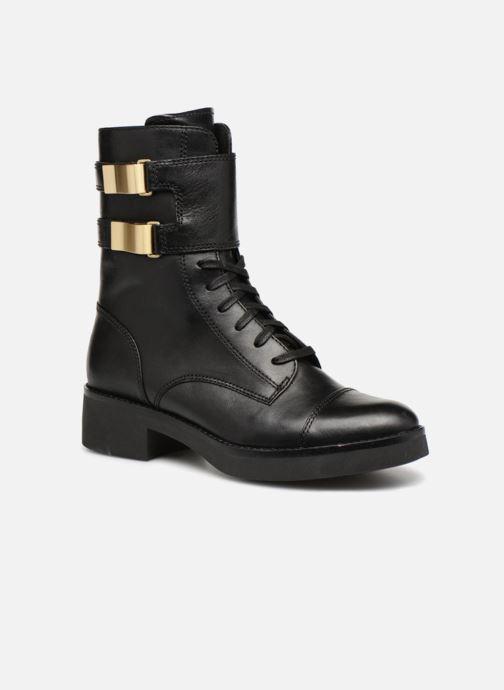 Ankelstøvler What For RHEA Sort detaljeret billede af skoene