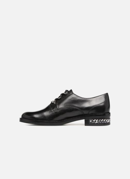 Lace-up shoes What For BALTAZAR Black front view