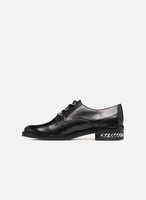 Chaussures à lacets What For BALTAZAR Noir vue face