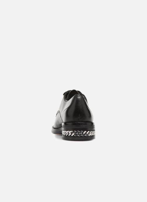 Zapatos con cordones What For BALTAZAR Negro vista lateral derecha