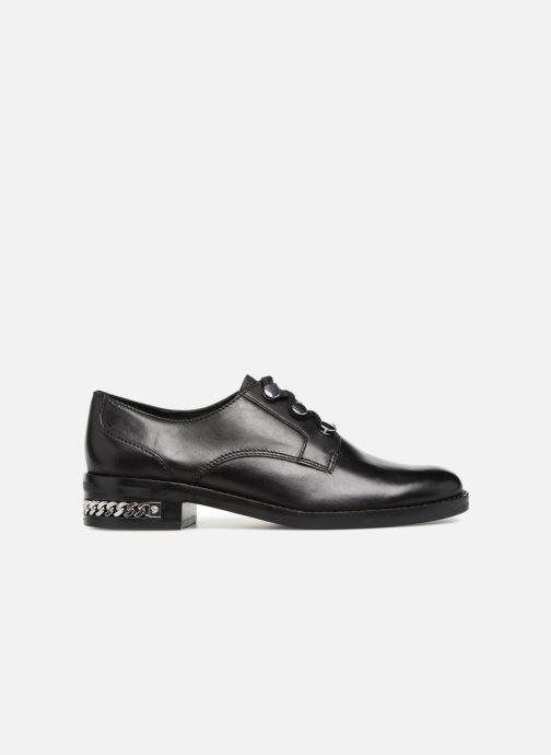 Zapatos con cordones What For BALTAZAR Negro vistra trasera