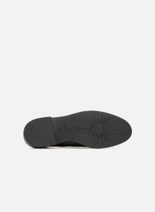 Chaussures à lacets What For BALTAZAR Noir vue haut