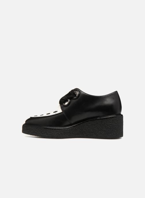 Chaussures à lacets What For SMITHSON Noir vue face