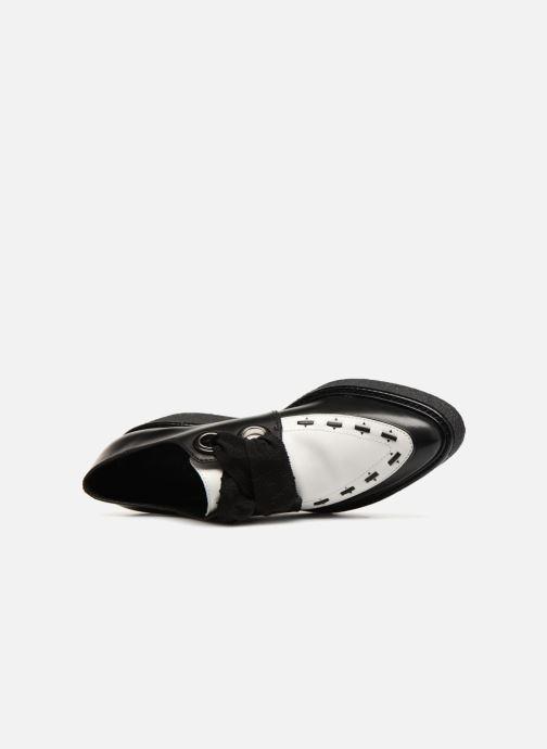 Chaussures à lacets What For SMITHSON Noir vue gauche