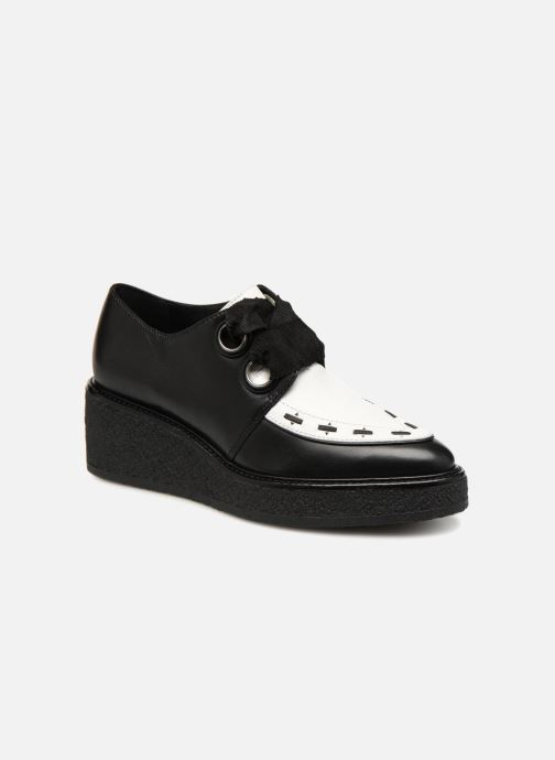 Lace-up shoes What For SMITHSON Black detailed view/ Pair view