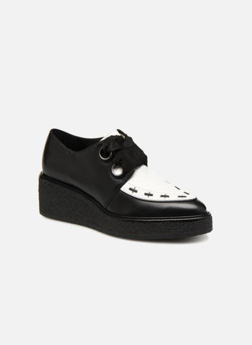Chaussures à lacets What For SMITHSON Noir vue détail/paire