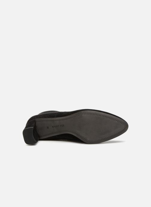 Bottines et boots What For RIQUI Noir vue haut